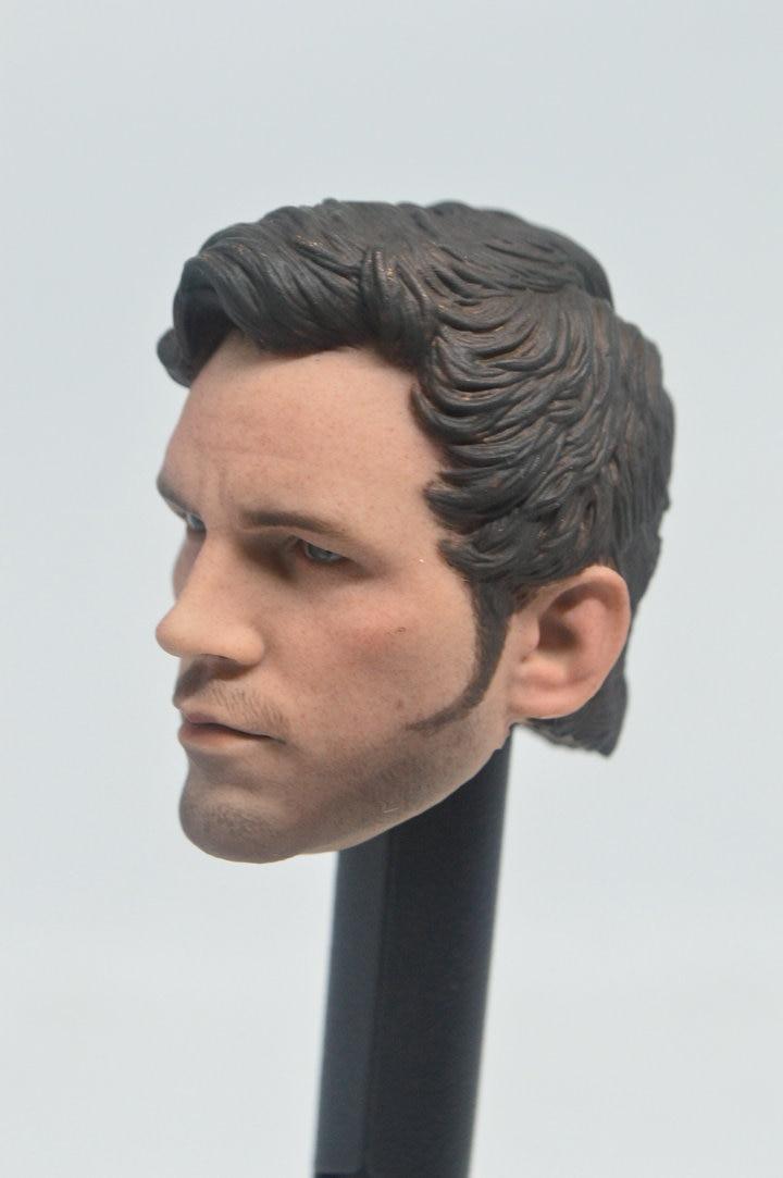 1//6 Star-Lord Chris Pratt Head Sculpt 2.0 Guardians of The Galaxy For Hot Toys
