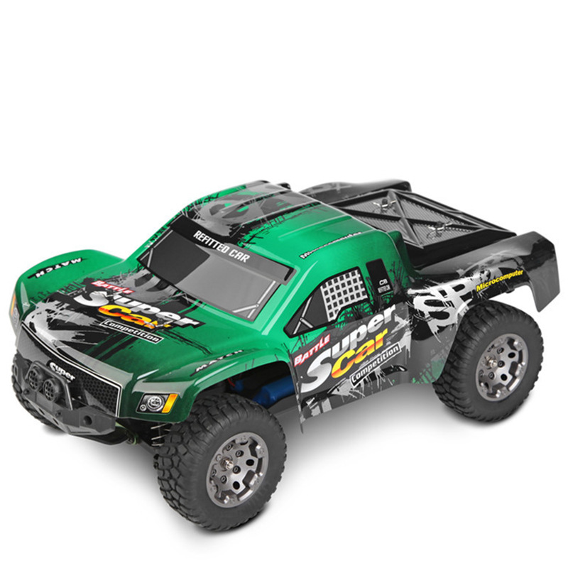 2017 NEW RC Electric Truck 1:12 Scale 38CM 2.4G 4WD High Speed 45km/h High Speed Truck RC Buggy Off-Road Vehicle Car VS FY05