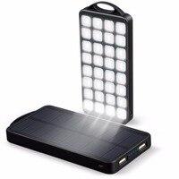 EC Technology Solar Li Polymer Battery Power Bank Unicorn Portable Mobile Charger Emoji Poverbank With LED