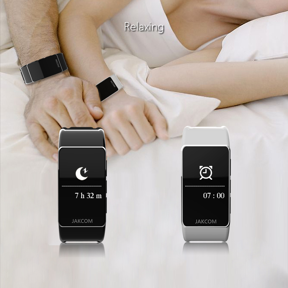 Jakcom B3 Smart Band New Product Of Wristba As Heart Rate Monitor Watch For Xiaomi Mi Band 2 Bracelet Talkband 12