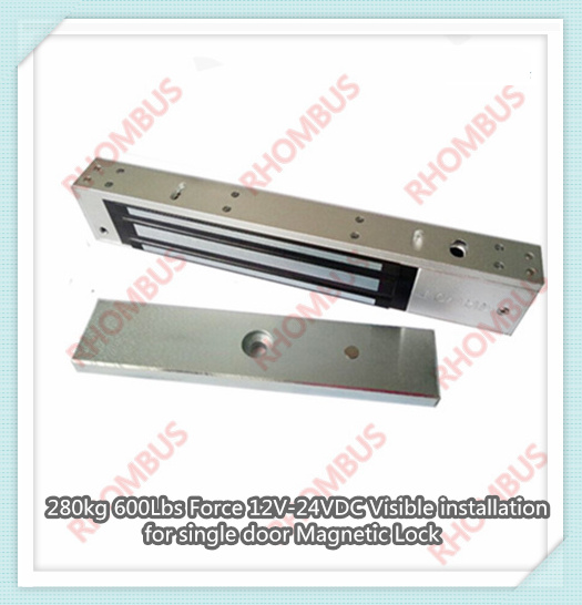 280kg 600lbs Holding Force Nc Waterproof Door Access Electric Magnetic Lock/electromagnetic Door Lock stainless steel gate lock with waterproof for wooden door glass door metal door fireproof door 280kg 600lbs electromagnetic lock