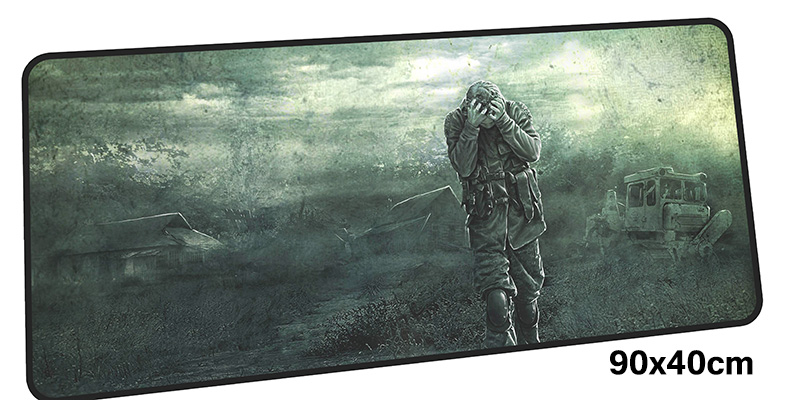 stalker mouse pad gamer 900x400mm notbook mouse mat gel large gaming mousepad cool new p ...