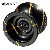 Yoyo yoyo bola yoyo yo-yo profissional de alta qualidade metal yoyo clássico brinquedos diabolo presente mágico para crianças n11 1a 2a 3a 5a