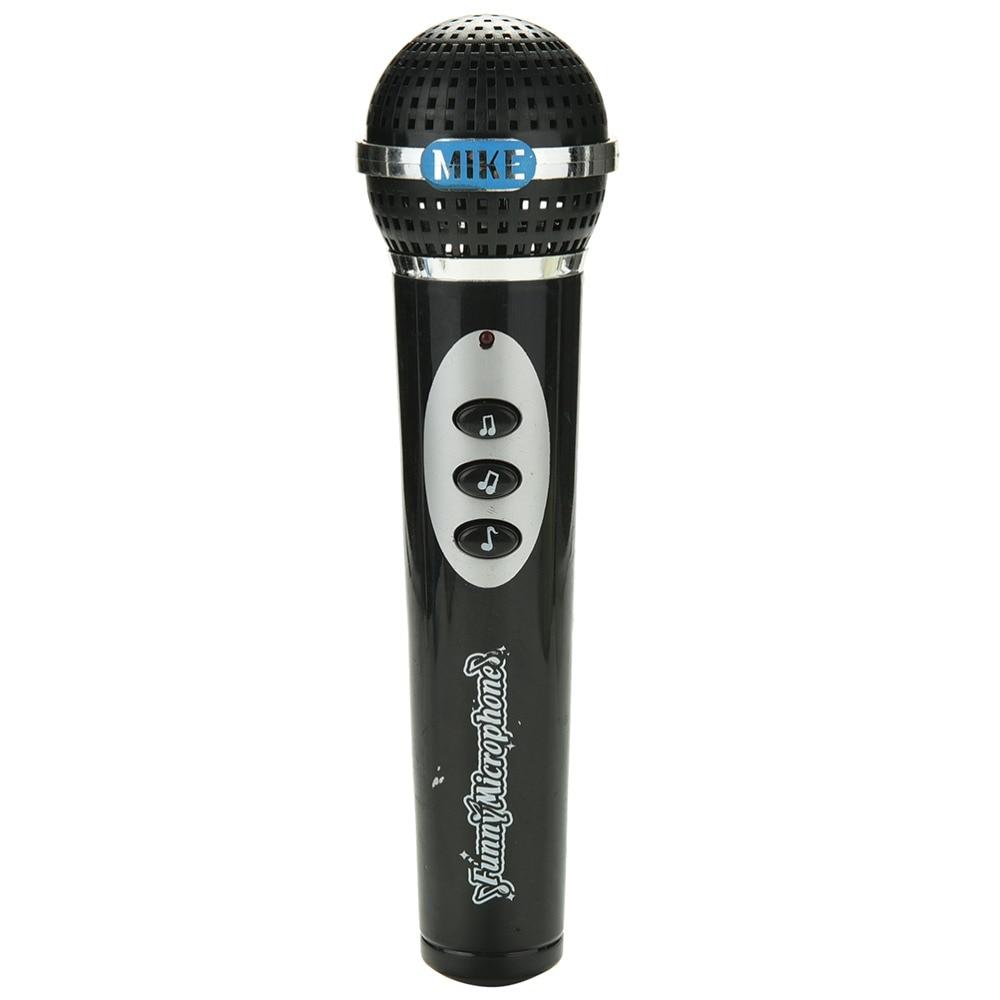 Black Simulation Microphone For Children Modern Microphone ...