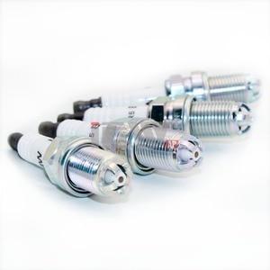 Image 3 - 6pcs/lot BKR6EQUP 12 12 0 037 607 Engine Ignition Spark Plugs 12120037607 3199 plug spark for B MW E34 E36 E39 E46 Z3