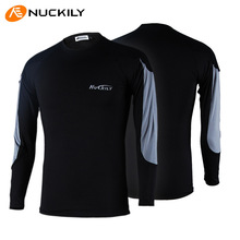 2015 autumn/winter outdoor sports bike riding skinny high elastic cold male underwear bottoming warm fleece clothing