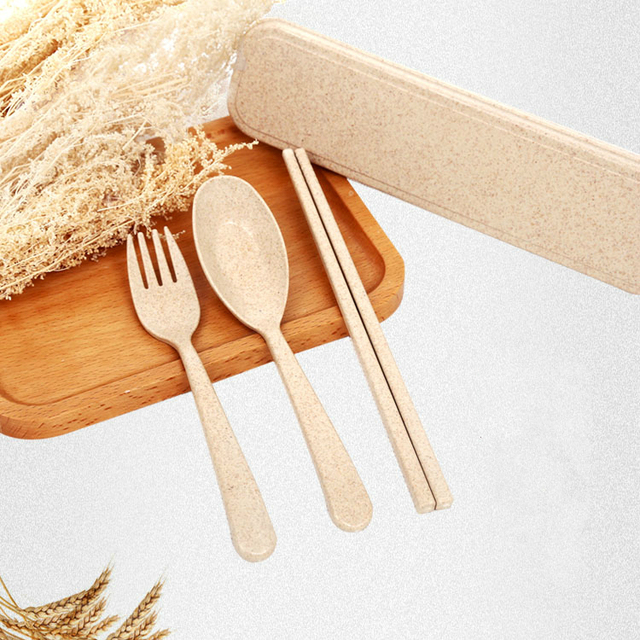 2017 New Fashion Natural Wheat Straw Bowl Plastic Kitchen Tableware Set Boxed Green Colorful Kitchen Tableware & 2017 New Fashion Natural Wheat Straw Bowl Plastic Kitchen Tableware ...