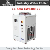 S&A CW6200 industrial water cool chiller for laser machine cooling co2 laser tube 8500w capacity