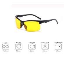 Night Version Reduce Glare Driving Glasses Multifunction Protective Night Sight Goggles Active Unisex Sunglasses For Car Drive