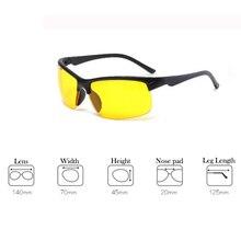 לילה גרסה להפחית בוהק נהיגה משקפיים תכליתי מגן לילה Sight משקפי פעיל יוניסקס משקפי שמש לרכב כונן