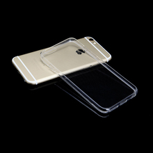 Transparent TPU Case For iPhone 8 7 Plus Ultra Thin Soft Clear Silicone Full Cover For iPhone 7 Plus 8 Phone Case rock ultra thin tpu soft case for iphone 7 transparent