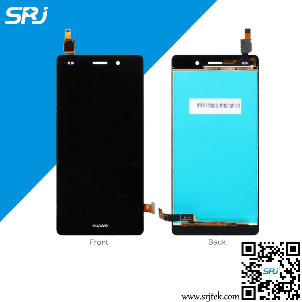 Original 5 For Huawei Ascend P8 Lite LCD Display Monitor Touch Screen Digitizer Glass Sensor Full Assembly Replacement Panel