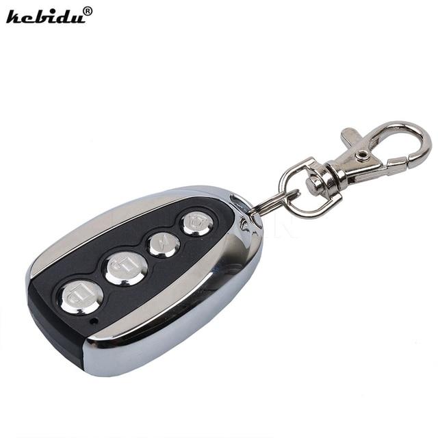 Kebidu Mini électrique 4 bouton 433.92 MHz Auto copie télécommande duplicateur clonage voiture clé porte clés copie contrôleur