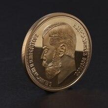 Moneda conmemorativa rusa 1901 regalos artísticos de coleccionismo BTC recuerdo de aleación de Bitcoin