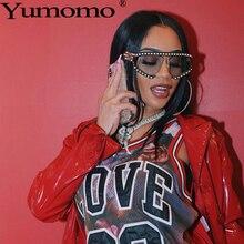 Yumomo Pearl Sunglasses Women 2019 New Fashion Luxury Brand Designer Vintage Red Gradient Personlity Unique Feminino Eyeglasses