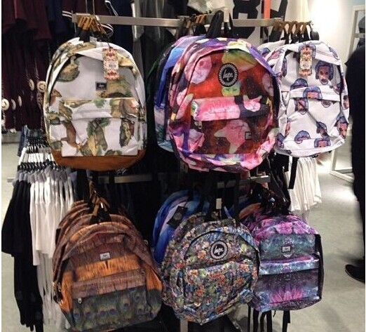 3f6ae9a545a Hot-selling Tide Brand Hype London Small Pure And Fresh Flowers Flower Lady  Backpack Bags Schoolbag School Bags For Teenagers