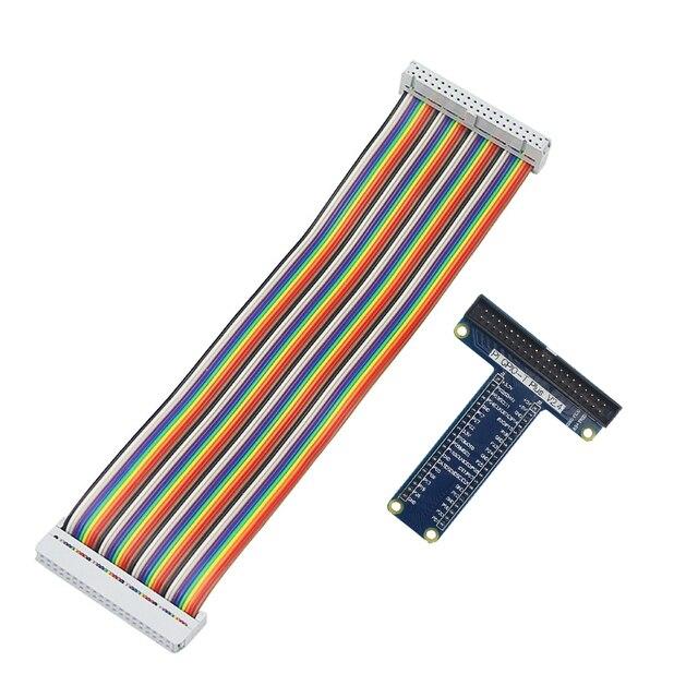 Raspberry Pi 3 B+ 40 Pin Extension Board Adapter +40 Pin GPIO GPIO Cable Line for Raspberry Pi 3 Model B+ for Orange Pi PC