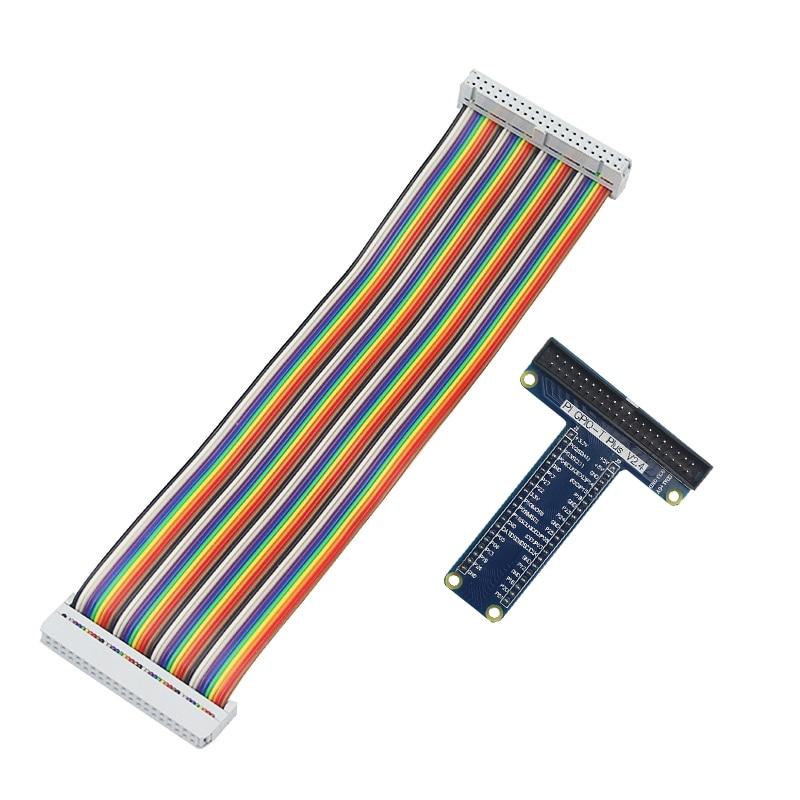 Raspberry Pi 40 Pin Extension Board Adapter +40 Pin GPIO GPIO Cable Line For Raspberry Pi 4B / 3B+ / 3 For Orange Pi PC