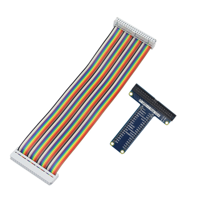 Raspberry <font><b>Pi</b></font> 40 Pin Extension <font><b>Board</b></font> Adapter +40 Pin GPIO GPIO Cable Line for Raspberry <font><b>Pi</b></font> 4B / 3B+ / <font><b>3</b></font> for <font><b>Orange</b></font> <font><b>Pi</b></font> PC image