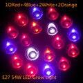 2017 New E27 54w Grow Light Led Full Spectrum Led Grow Light Lamp Plants Vegetables Hydroponic System LED Lighting Plant