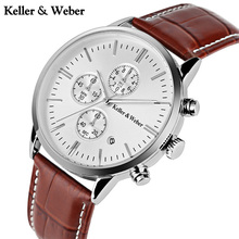 Keller & Weber Chronograph Watch 30ATM W
