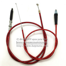 Red Throttle Clutch Cable For Chinese Pit Dirt Motor Bike Motorcycle X