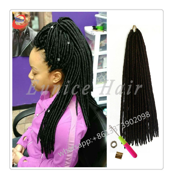Colored Great Lengths African Hair Twist Extension Crochet Easy Loc