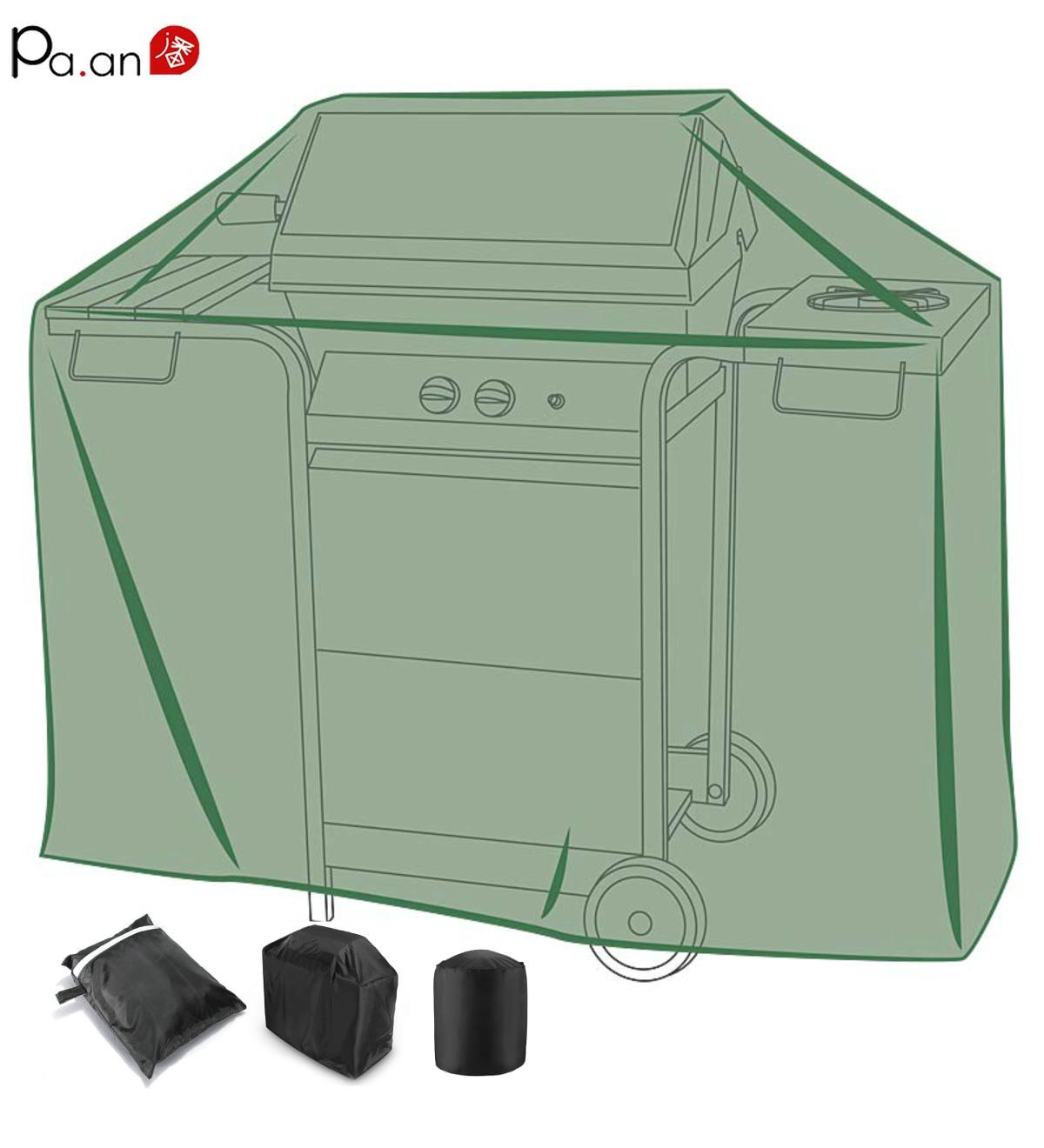 Rainproof Patio Furniture.Us 10 65 29 Off Black Silver Bbq Grill Cover Waterproof Barbeque Covers Patio Garden Accessories Outdoor Furniture Dustproof Rainproof Durable In