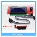 1 Pcs Display LCD de Controle de Impressora 3D Reprap Controlador Inteligente Reprap Rampas 1.4 2004LCD