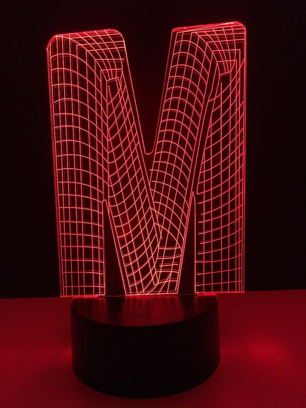 Aliexpress.com : Buy Name DIY 3D Lampara Night light alphabet ... for Diy Sleep Lamp  lp00lyp
