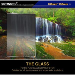 Image 5 - ZOMEI 150  100mm Camera Filter Import Optical Glass Square Soft Gradual Neutral Density ND2 4 8 0.3 0.6 0.9 Filter for Cokin Z