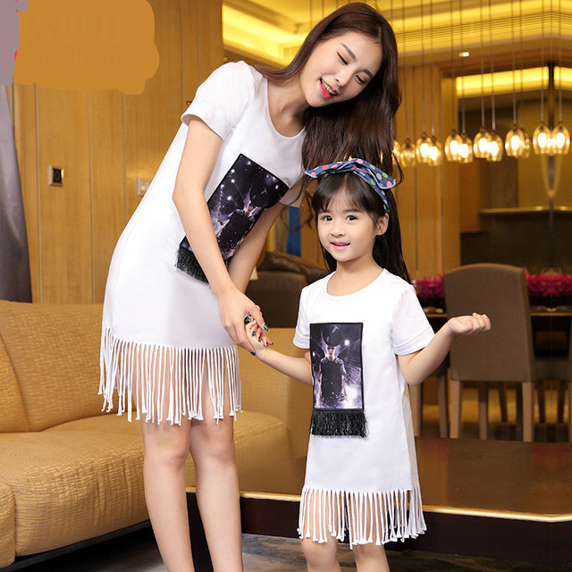13c8bd88c 2016 New Family Look Girl And Mother Daughter Dresses Summer ...