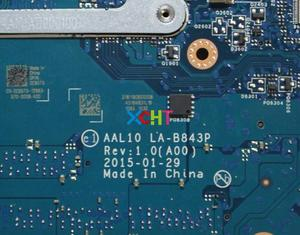 Image 5 - Dell 17 5558 5758 C65T5 0C65T5 CN 0C65T5 AAL10 LA B843P SR245 I3 5010U Laptop Anakart Anakart için Test