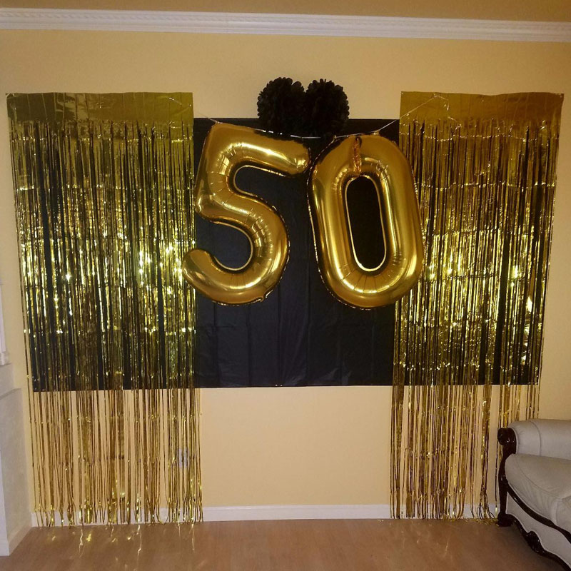 image panel x photo ft for foil result black door curtains fringe metallic gold curtain of