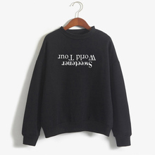 Casual Sweatshirt Ariana Grande World Tour Hoodie Women Long