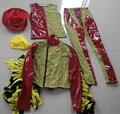Super macho man костюм macho man костюм хэллоуин костюмы забавный одежда для мужчин карнавальные костюмы фильм одежда