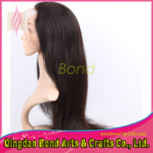 Top Quality Straight Lace Front Wigs With Baby Hair Virgin Brazilian Full Lace Human Hair Wigs For Black Women