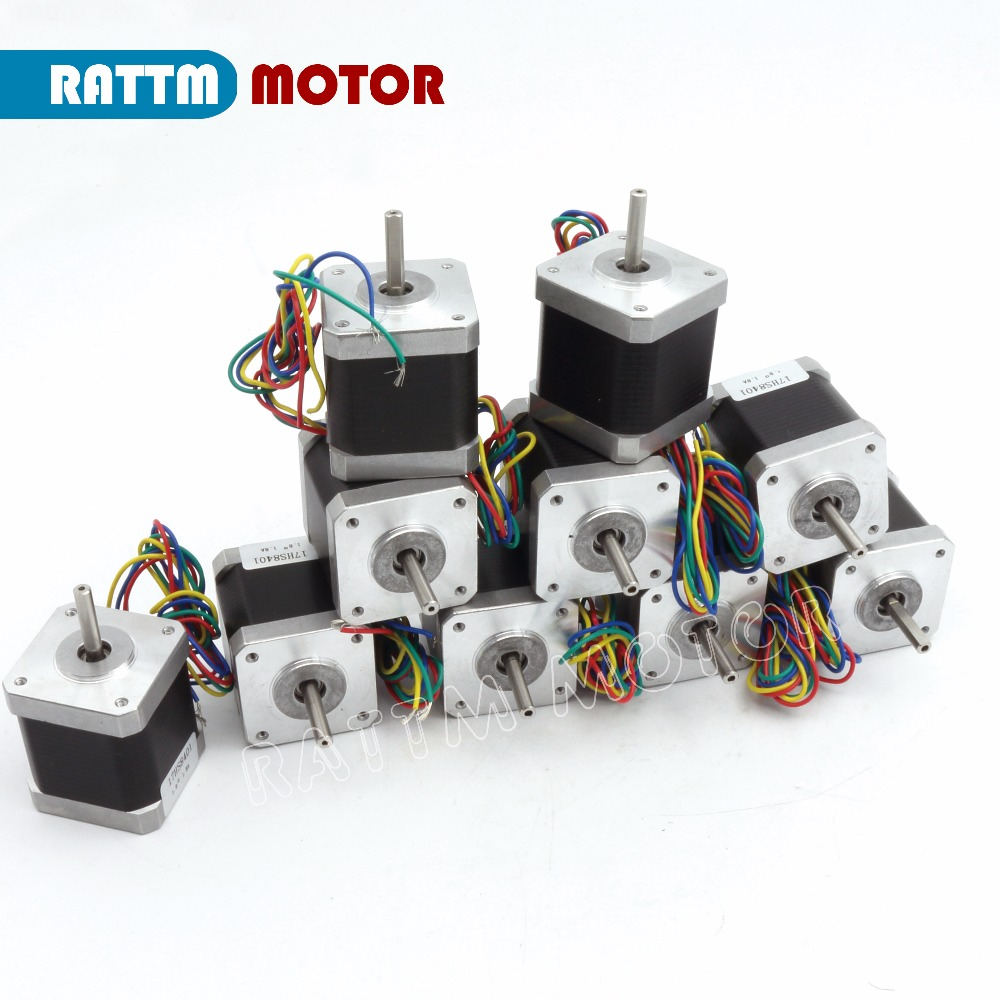 EU Delivery! 10pcs NEMA17 78 Oz-in/48Ncm L48mm 1.8A CNC stepper motor stepping motor for CNC 3D prind 30pcs in one postcard take a walk on the go firenze italy christmas postcards greeting birthday message cards 10 2x14 2cm