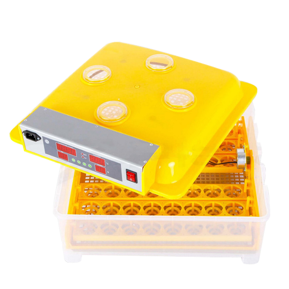 Fast ship from EU! Fully Automatic 48 Eggs Chicken Eggs Incubator Transparent Hatcher with CE Approved Good QualityFast ship from EU! Fully Automatic 48 Eggs Chicken Eggs Incubator Transparent Hatcher with CE Approved Good Quality