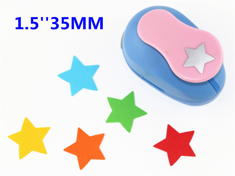 Freeship Star Craft Scrapbooking Punches Craft Punch Perfurador Paper Cutter Furadores De Papel Para Scrapbook 38mm/1.5'' R345