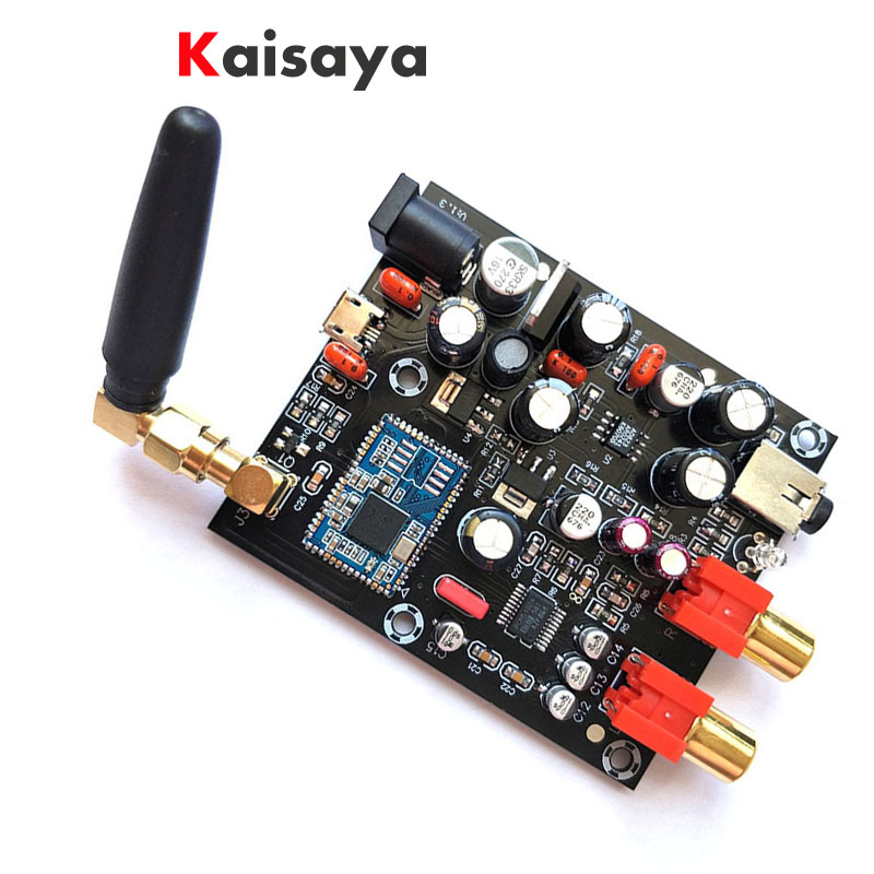 new CSR8675 Bluetooth 5 0 Board Receiver PCM5102A APTX HD I2S DAC decoder With Antenna support