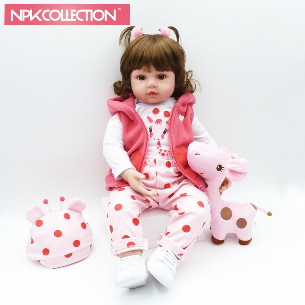 NPKCOLLECTION 58 cm bebe reborn dolls with soft silicone girl body newborn baby toys for girl cheaper price newborn dolls toys npkdoll bebe reborn dolls with soft silicone girl body newborn dolls cheaper price reborn real doll toys for girls bebe dolls