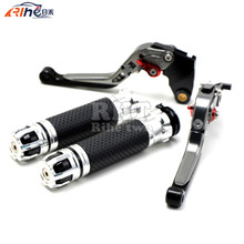 Handlebar Motorcycle Handle Bar Grips Adjustable Clutch Brake Levers For DUCATI MULTISTRADA 1200 1200/ GT 10 11 12 13 14 15 16