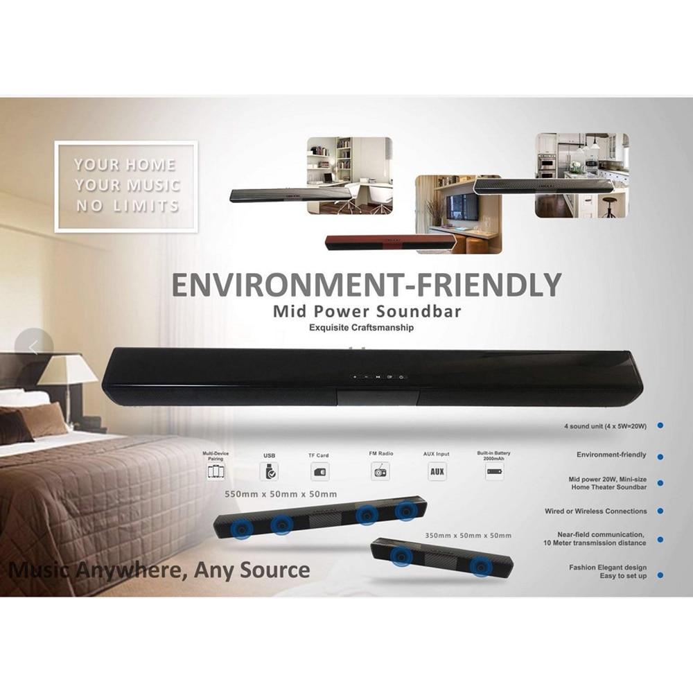 wireless bluetooth column soundbar stereo speaker powerful tv home rh aliexpress com