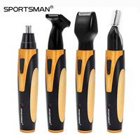 4 In 1 Rechargeable Electric Nose Hair Trimmer Removal Clipper Shaver Machine Beard Eyebrow Trimmer For