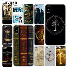 Lavaza The Lord of Rings Hobbit Hard Cover Case for Apple iPhone X XS Max XR 6 6S 7 8 Plus 5 5S SE 5C 4S 10 Phone Cases 8Plus