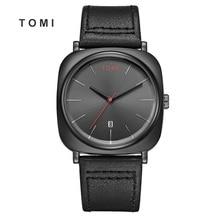 2018 Tomi Men Watch Luxury Brand  Quartz Watches Man Clock Simple Fashion Creative Minimalist Leather 20
