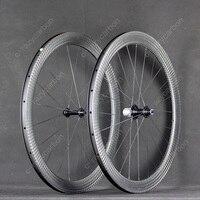 12k Carbon Wheelset 50C Full Carbon Clincher Super Light 700c Road Bike Wheelset