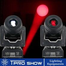 2pcs 90W הזזת ראש ספוט נבל LED אורות במה Dmx Gobo פריזמה קרן אפקט מיני DJ אור עבור מסיבת מועדון חתונה עם מוסיקה מצב