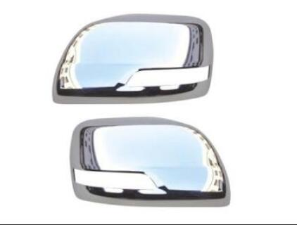 Garnitures de couverture de miroir de porte sans trou Chrome voiture-style 2010-2017 pour Toyota Land Cruiser 200 accessoires